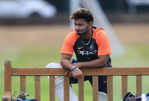 Pant made his Test debut for India in the Trent Bridge game