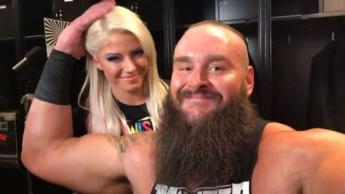 Strowman is good friends with Rousey's opponent Alexa Bliss