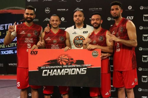 Delhi Hoopers are crowned Championship of the sixth and final round of the 3BL