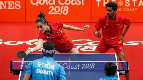 Achanta Sharath Kamal and Manika Batra settles for bronze