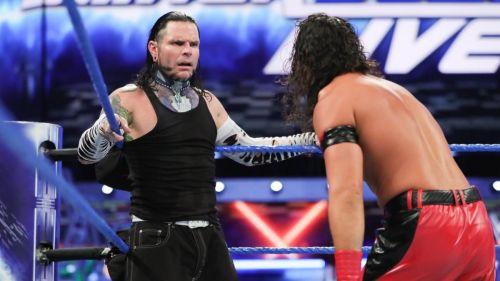 Jeff Hardy faced Shinsuke Nakamura for the United States Title