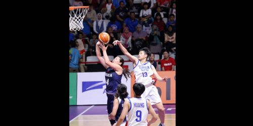 Enter caAction from Unified Korea and Thailand Basketball at the Asian Games 2018 on day 11