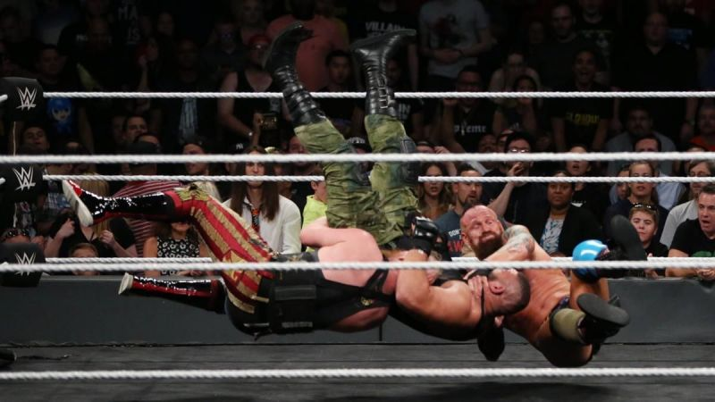 Authors of Pain vs. SAnitY NXT TakeOver: Brooklyn III