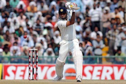 First Test - Day Five:  India v Australia