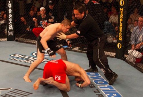 Duane Ludwig's knockout of Jonathan Goulet remains the fastest in UFC history