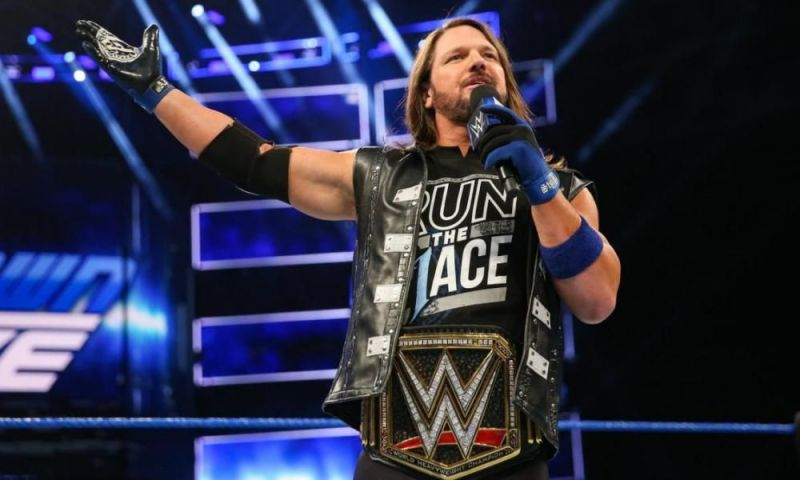 quality design 6e303 3b8e3 5 Blockbuster feuds for AJ Styles as the WWE Champion