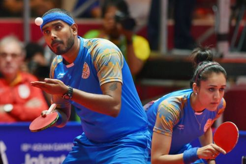 Ace paddler Sharath Kamal and the new sensation Manika Batra won the second bronze for India in the mixed doubles event, which is also India's first ever mixed doubles medal at the Games.