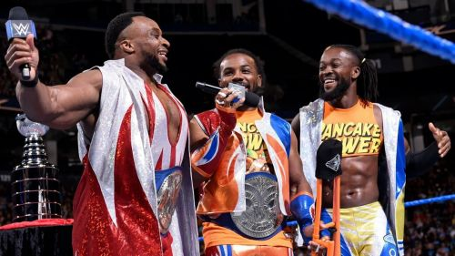 Image result for wwe king booker and new day