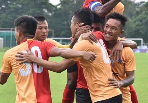 813bb6ea94f5 Calcutta Football League 2018  East Bengal FC vs Aryan Club - The ...