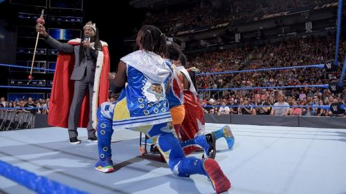 Booker T welcomed New Day to the Exclusive 5-Time Champions' Club