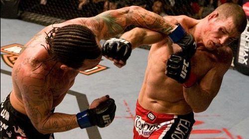 Bisping went to war with brawler Chris Leben at UFC 89