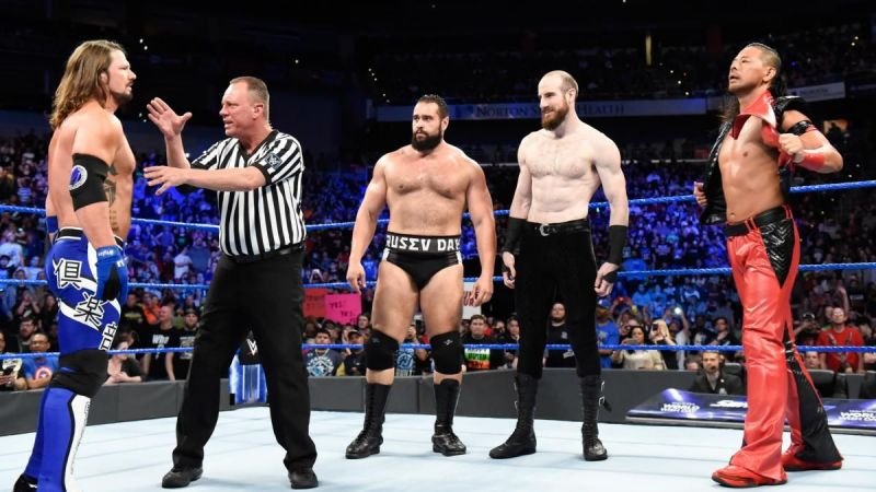 Rusev and Aiden English are going through a bit of a rocky patch at the moment