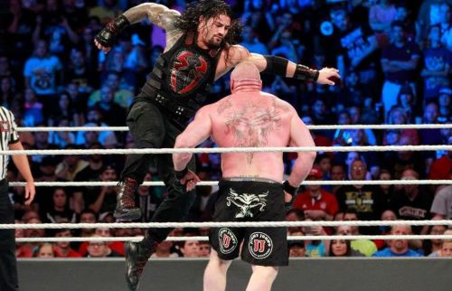 Brock Lesnar, Roman Reigns,