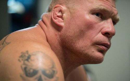 WWE Universal Champion Brock Lesnar claimed that he doesn't watch Monday Night RAW, all while he was seated backstage at this week's RAW tapings