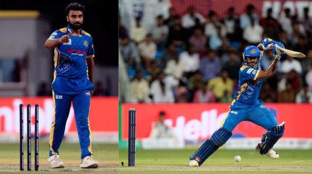 Tanwar and Arun Karthik did the damage with ball and bat