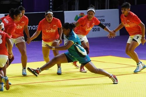Indian Women's Kabaddi Team was successful on the day 3 of the Asian Games 2018