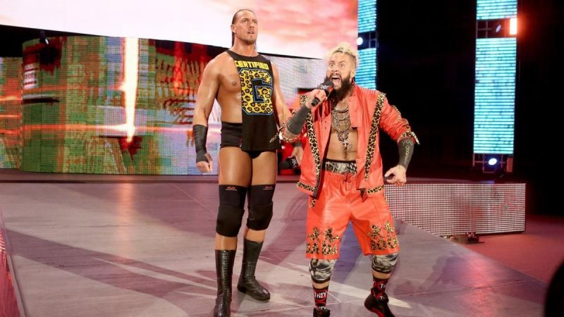 Enzo and Cass were two of the most popular tag team wrestlers in NXT