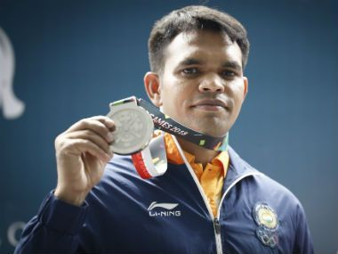 Deepak Kumar won the first medalof the day
