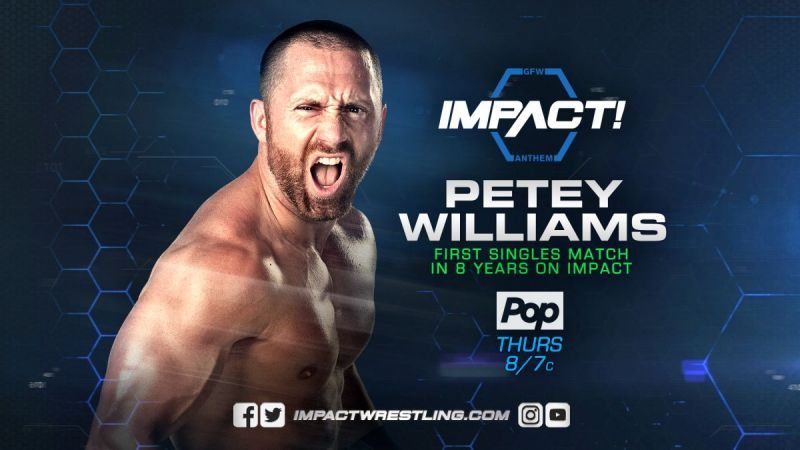 Williams is pumping up Impact Wrestling