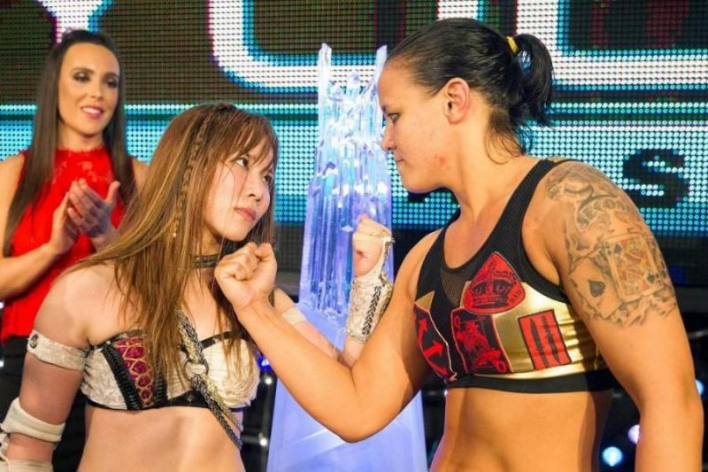 Kairi Sane vs. Shayna Baszler Mae Young Classic final