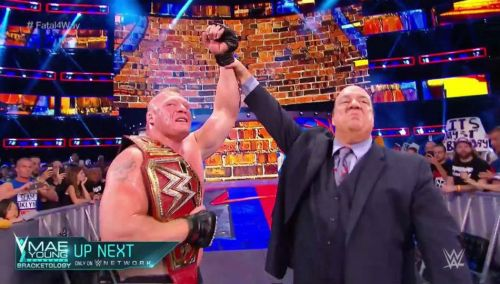 Will Brock Lesnar walk out champion at SummerSlam?