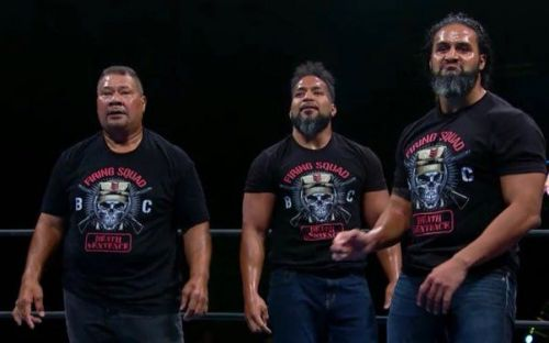 ace45aa53518e 5 Superstars who could join The Bullet Club Firing Squad