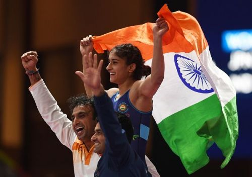 Vinesh Phogat won India's second gold of the 2018 Asian Games