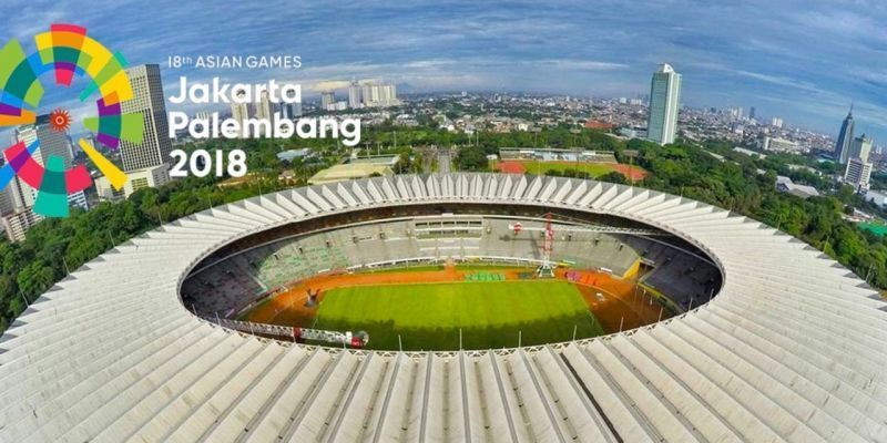 Gelora Bung Karno Main Stadium The Venue For The Opening Ceremony