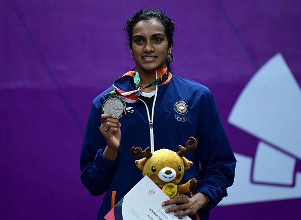 PV Sindhu won the silver medal in the women