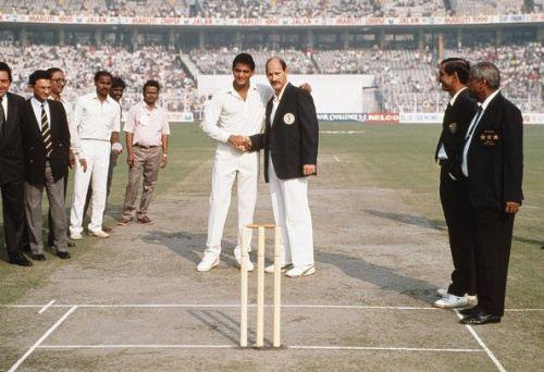 India v South Africa 1st ODI Calcutta 1991