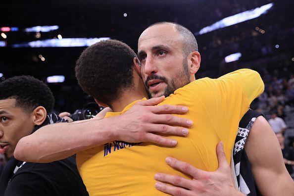 Golden State Warriors v San Antonio Spurs - Game Four