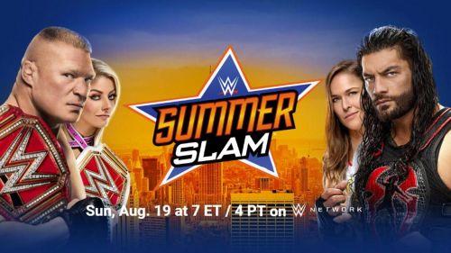 SummerSlam 2018 poster.