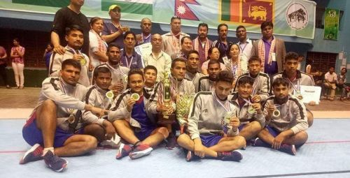 Nepal held the silver medal in the International Invitational Men's Kabaddi Tournament held in Kathmandu, Nepal.