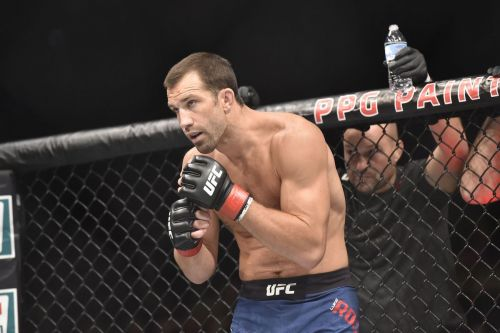 Luke Rockhold has his sights set at the UFC 205-pound division