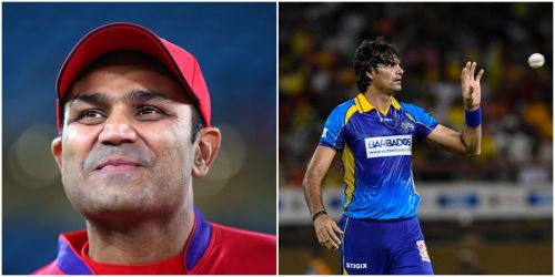 Virender Sehwag Mohammad Irfan