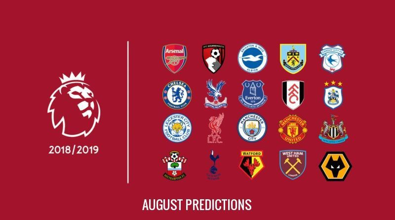 Premier League 2018/19: Predicting how the table will look at the