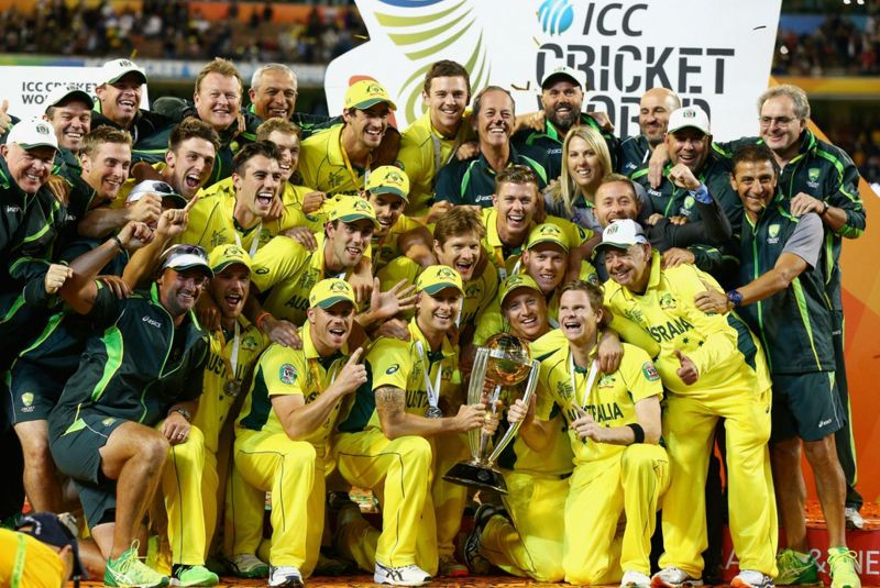 Australia is the current World Champion