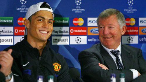 Alex Ferguson Cristiano Ronaldo - cropped