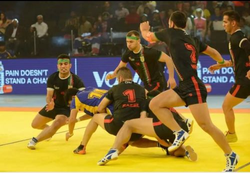 Iran produced top quality performance in Kabaddi World Cup 2016 and ended their campaign on a high note after an audacious breakthrough.