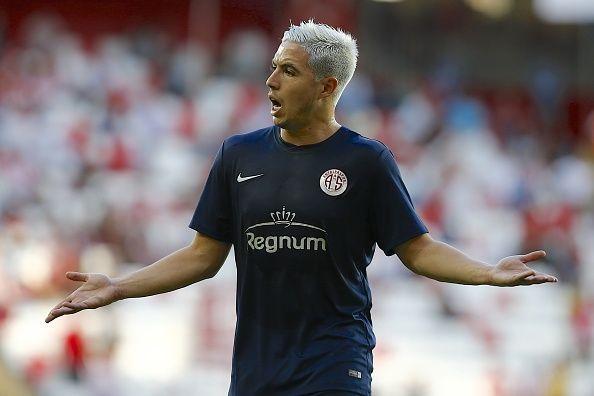 Midfielder Samir Nasri