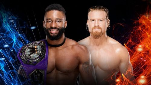 Buddy Murphy vs. Cedric Alexander for the cruiserweight title has been announced