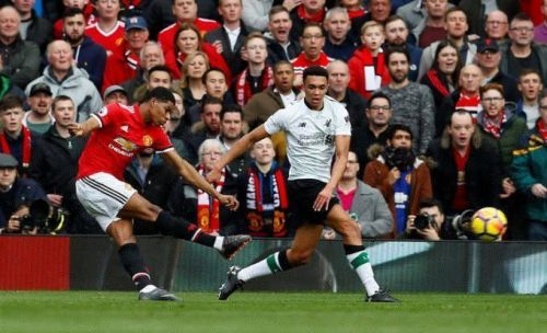 Image result for man utd vs liverpool 2018