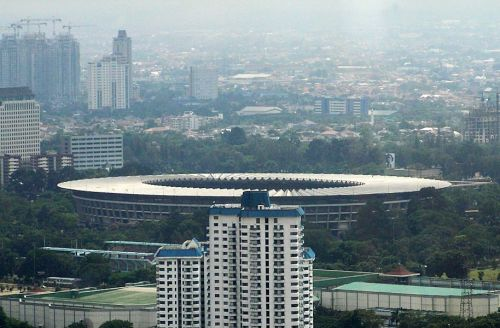 Gelora Bung Karno Sports Complex : Venue for squash at Asian Games 2018