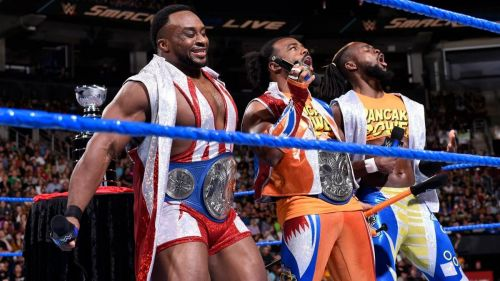 The New Day started proceedings on SmackDown Live