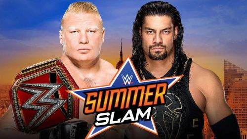 Brock Lesnar Vs Roman Reigns is likely to close the show at SummerSlam