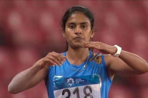 Neena Varakil claimed the silver medal in the women's long jump final