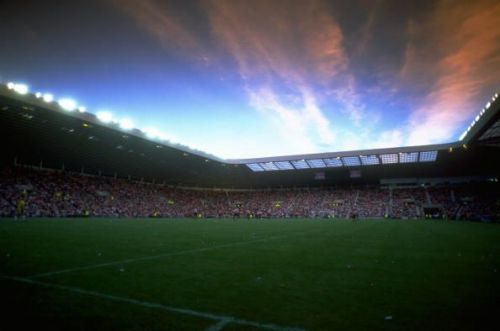 A general view of the Stadium of Light