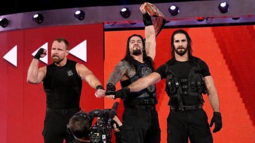 Shield reunited on Monday Night Raw