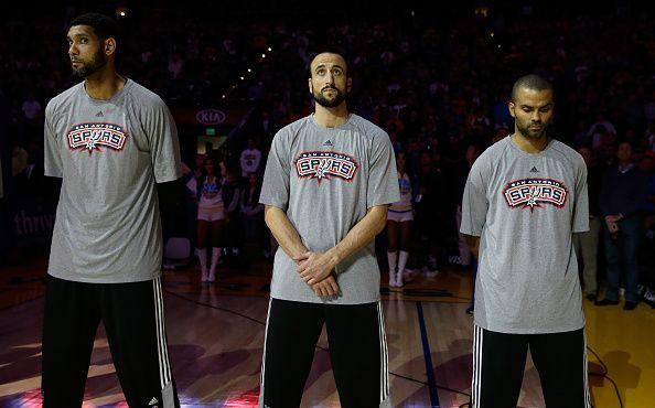San Antonio Spurs v Golden State Warriors