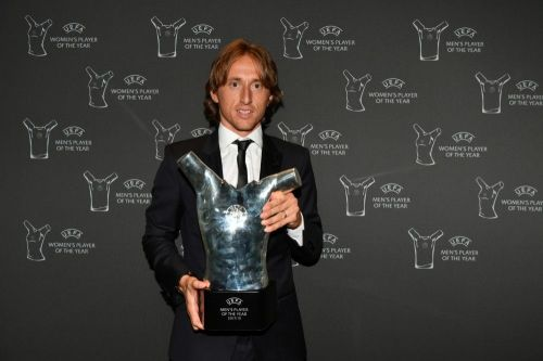 Luka Modric: UEFA Men's Player of the Year 2017-18